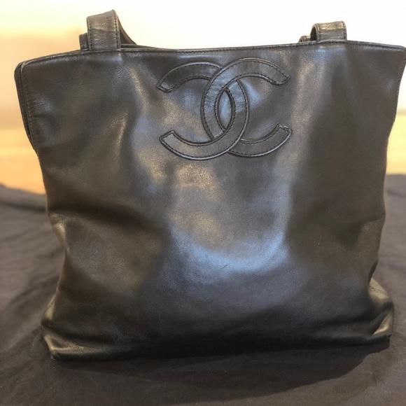 bb90109451f5 CHANEL Handbags - Chanel Vintage Small Shopping Tote Bag